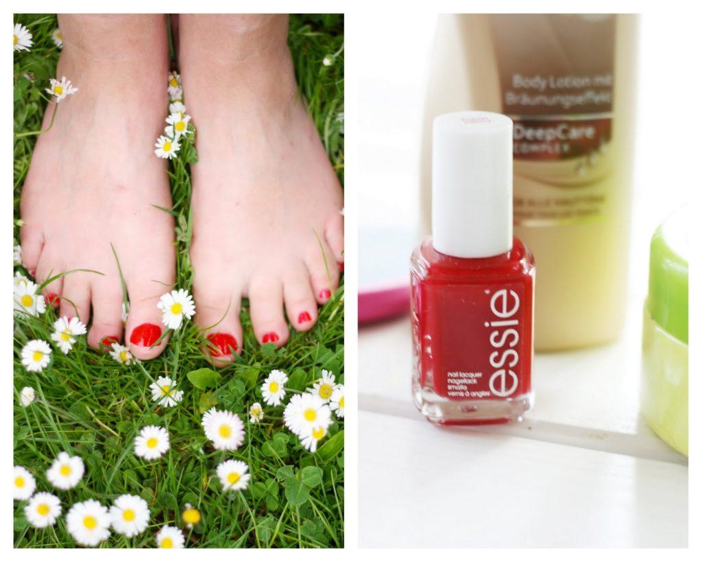Essie, Flip Flop taugliche Füße