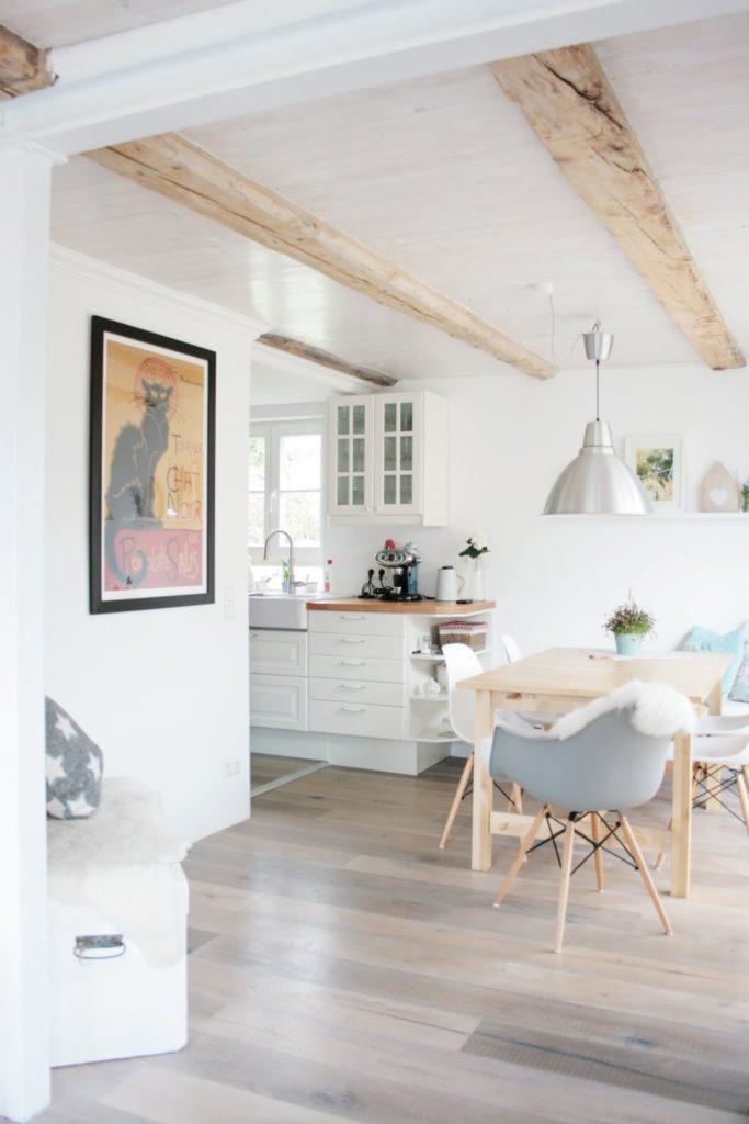 Kompromiss Wohnküche, Ikeaküche