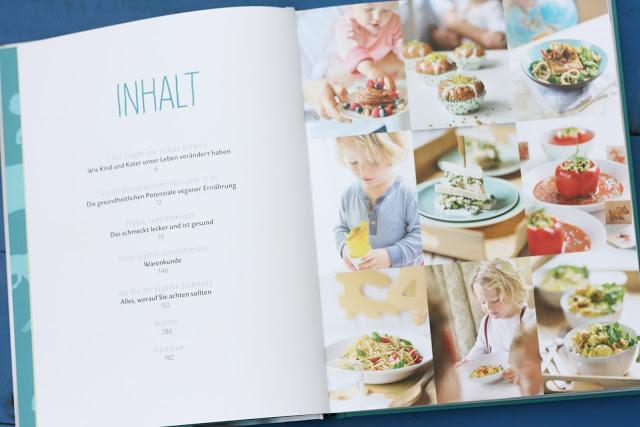 Das vegane Familienkochbuch, Inhalt