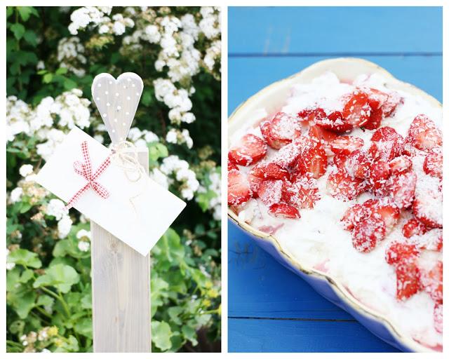 Erdbeer- Kokos Tiramisu