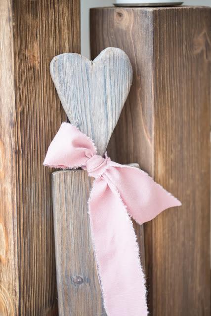 Herzstecker aus Holz, selbstgemacht