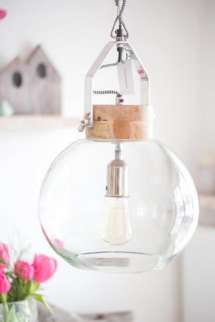 Industrielampe Glas, Impressionen