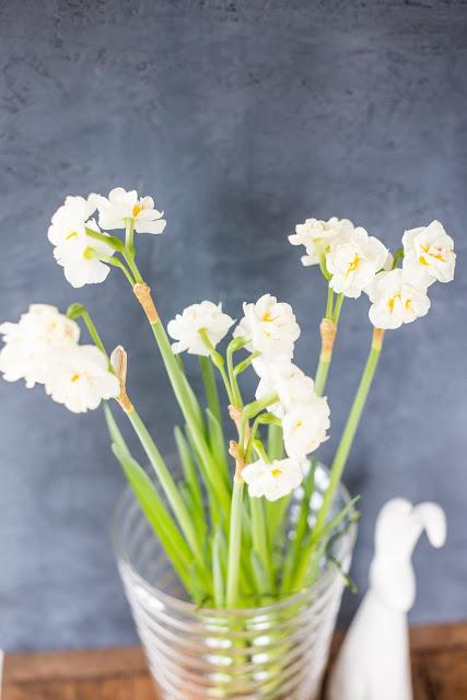 weiße Narzissen, Bridal Crown