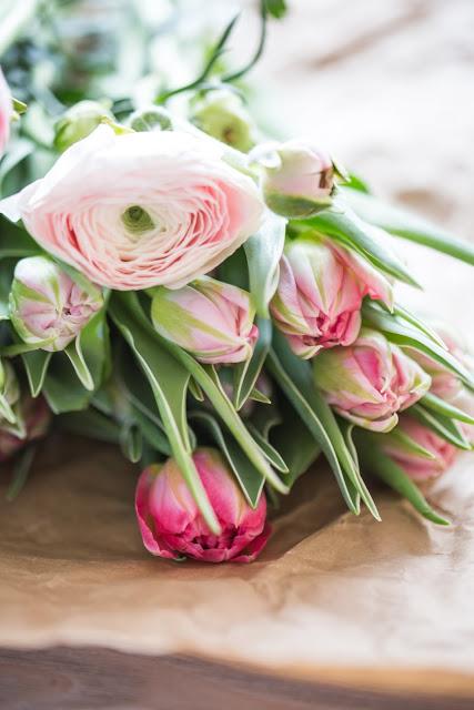 Tulpenstrauß,Weekendflowers