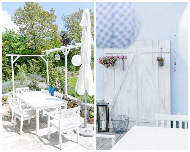 Terrase, Gartenimpressionen