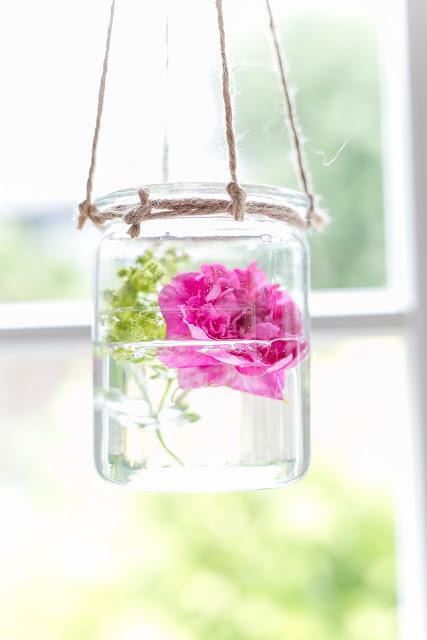 Rose in Weckglas