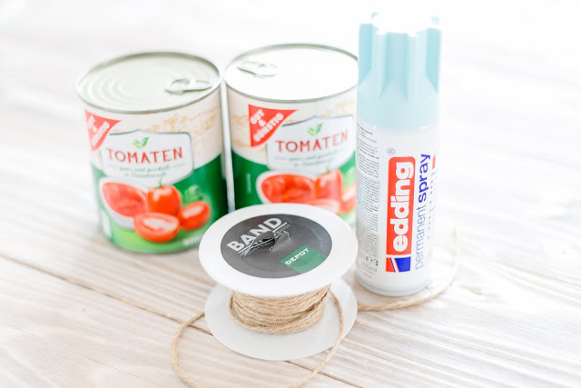 Tin Can, Dosen Upcycling