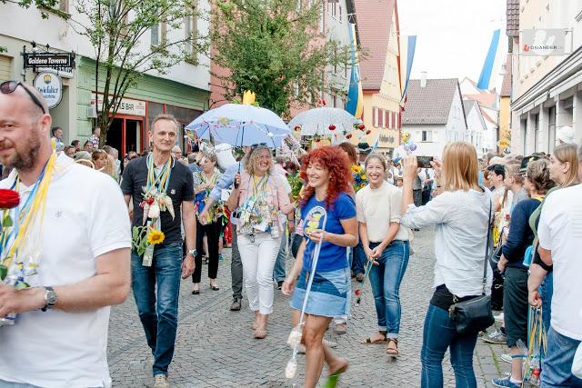 Jahrgängerumzug Biberacher Schützenfest