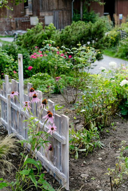 Zaunelement als Pflanzenstütze, DIY