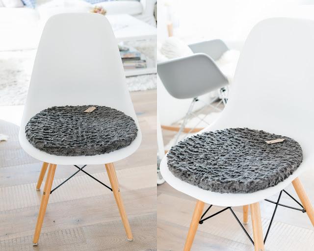 Sitzkissen  Eames Chair, Pomponetti Interior Etsy
