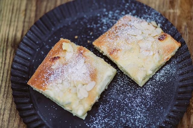 Applepie, Apfel- Vanille-Butterkuchen, Rezept, Pomponetti