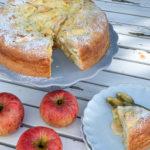 Apfel Vanille Butterkuchen