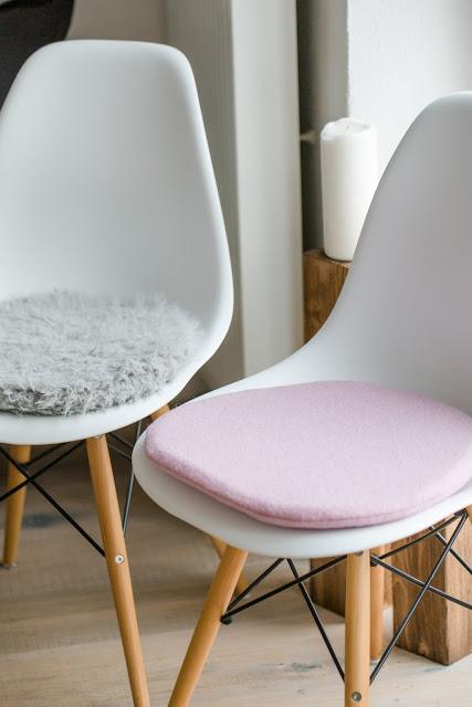 neue eames sitzkissen oder die rosa phase ist noch nicht. Black Bedroom Furniture Sets. Home Design Ideas