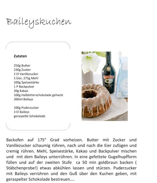 Nikolauskaffee,Baileyskuchen, Rezept, Pomponetti