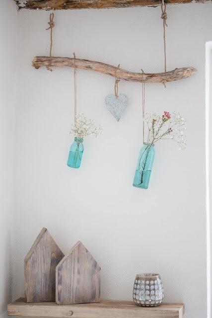 Frühjahrsdeko, Deko- Anhänger DIY, Pomponetti
