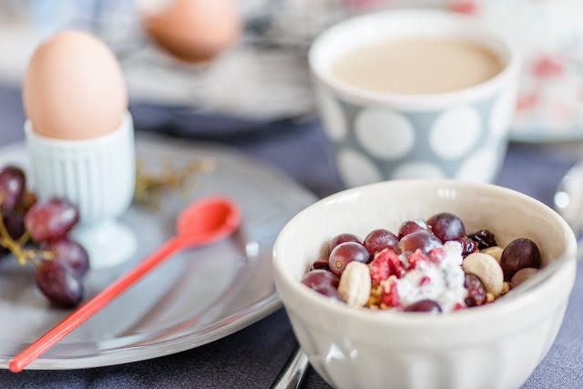 Sonntagsfrühstück, Porridge, Pomponetti