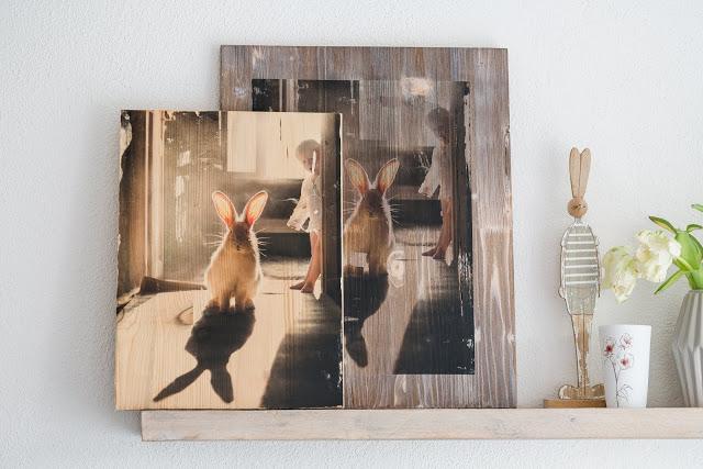 Lieblingsbilder, DIY Projekte mit Fotos, Bildtransfer auf Holz, Blog- Tour, Pomponetti