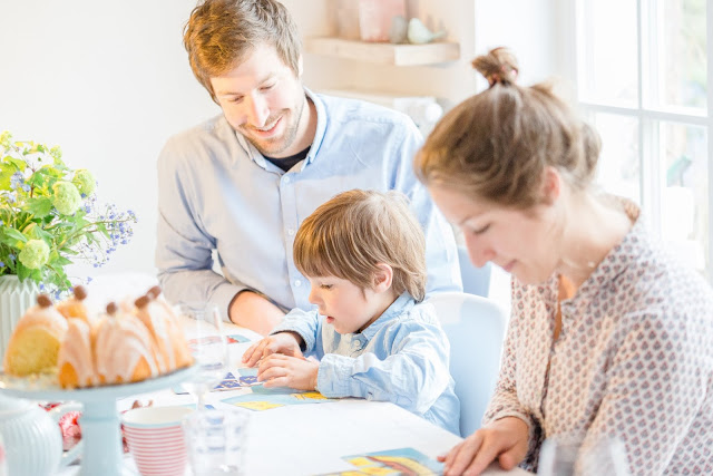 Osterimpressionen, Family, Pomponetti