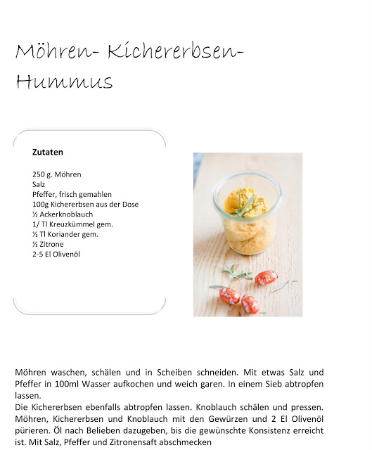 Möhren- Kichererbsen- Hummus, Rezept, Pomponetti