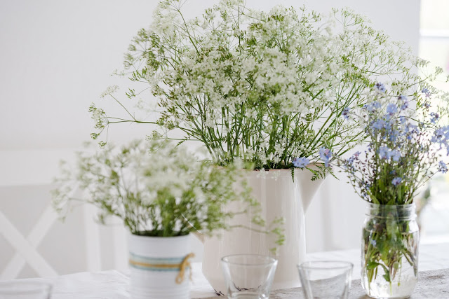 Friday Flowerday, Wiesenstrauß, Pomponetti