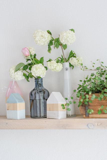 Von Unkraut- Upcycling, Regaldeko und tierischen Nachbarn, Pomponetti, my shelfie, Strandhäuschen DIY
