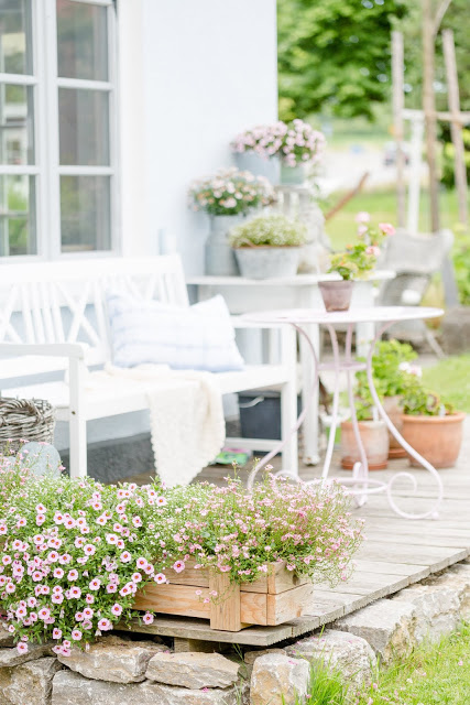 Von idyllischen Plätzen und anderen Lieblingsecken im Garten, Pomponetti