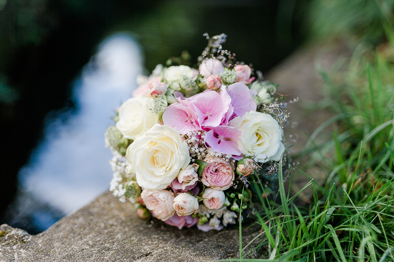 Brautstrauß, Hochzeitsfotografie Biberach, Pomponetti