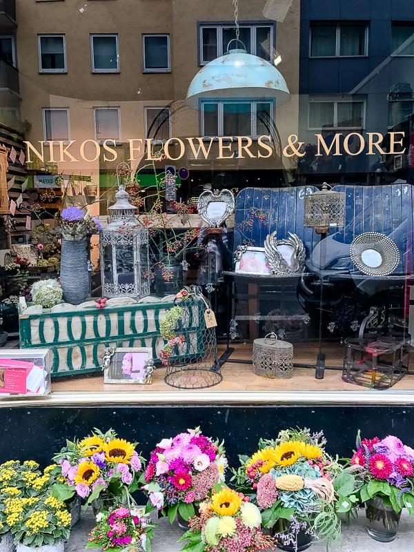 Kleine Schätze , große Städte..... tolle Läden und Cafés in München, Pomponetti, Nikos Flowers and More