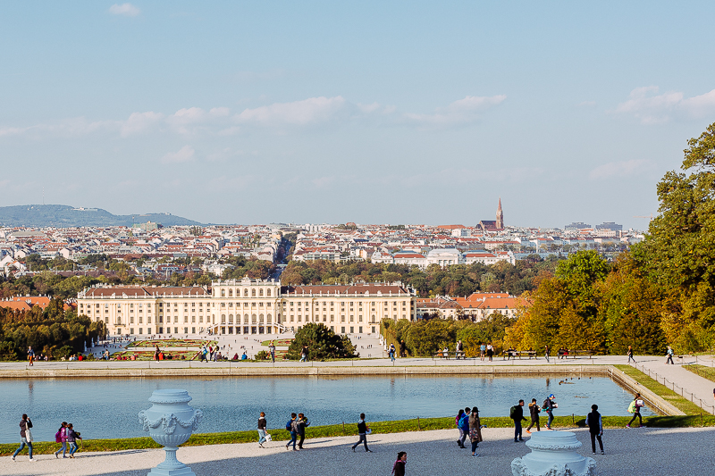 Wienimpressionen oder Park Schönbrunn mit Fotoshooting, Pomponetti