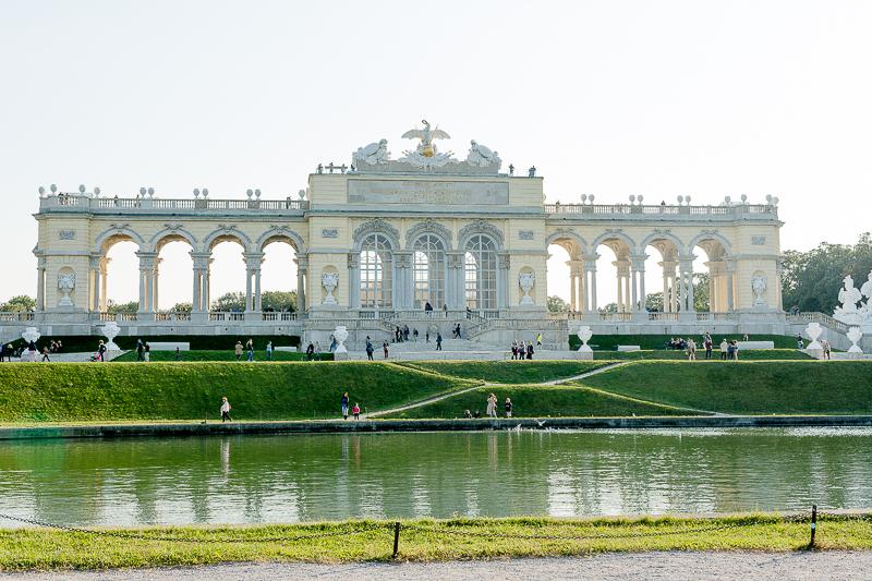 Wienimpressionen oder Park Schönbrunn mit Fotoshooting, Pomponetti, Gloriette