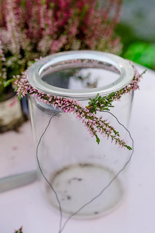 7 Tips gegen den Herbstblues und Wochenendblümchen mit Erika, Pomponetti, DIY Heidekranz