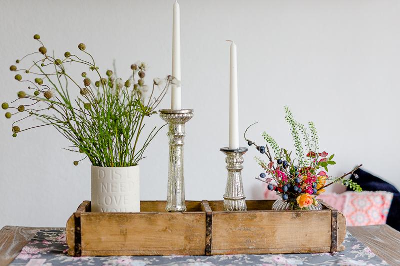 Blumen aufs lange Wochenende und ein neues kleines Café in München