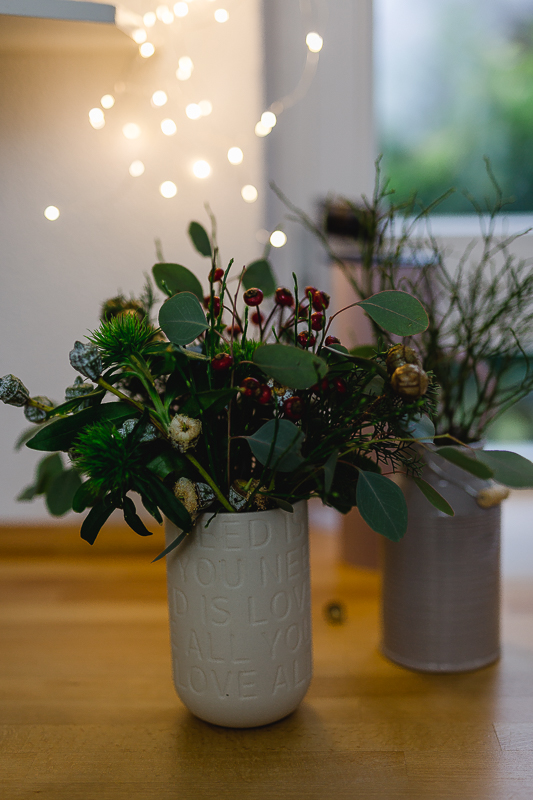 Weekendflowers mit Eukalyptus, Pomponetti, Friday Flowerday
