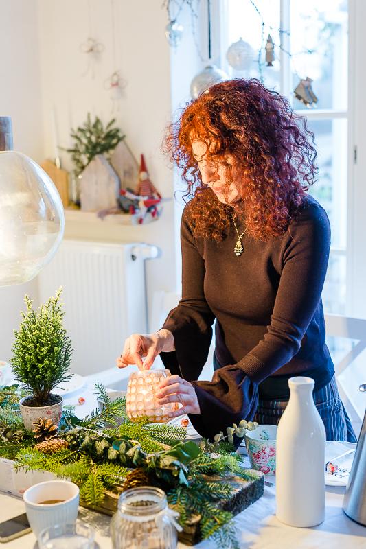 Rezept für Schokoladen- Weihnachtstorte,Pomponetti, Impressionen vom Weihnachtsfest
