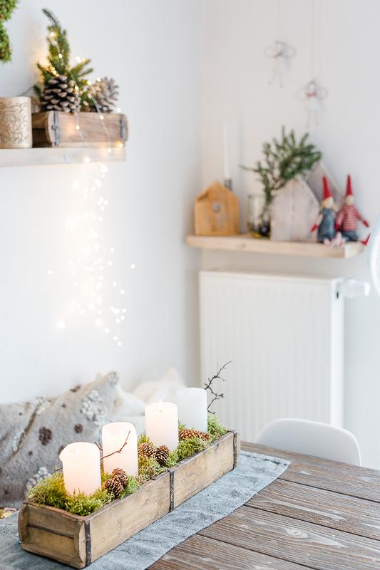 Vorweihnachtszeit, Pomponetti,Weihnachtsdekorationdekoation