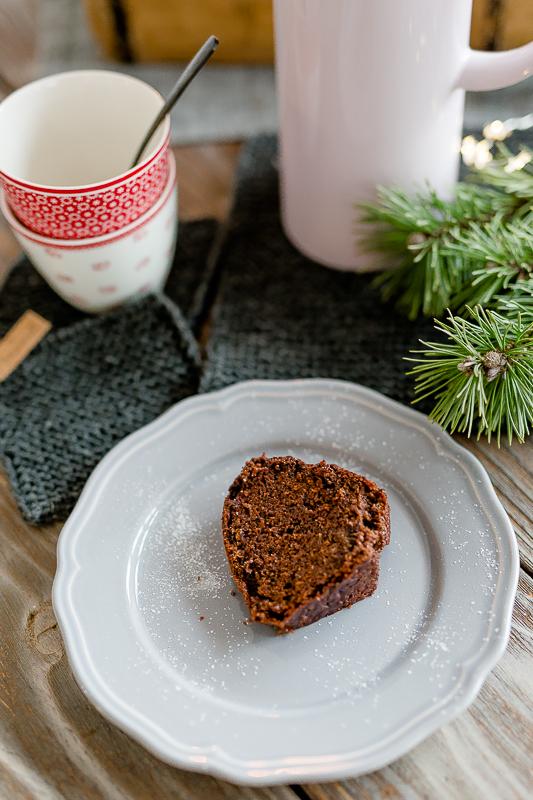 Weihnachtsbäckerei, Adventskaffee, Adventsguglhupf, Glühwein-Spekulatius- Guglhupf, Adventsrezept, Pomponetti