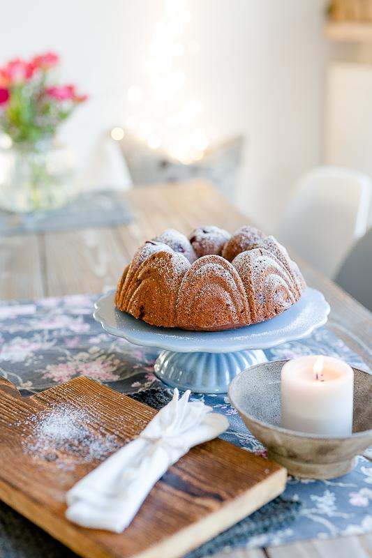 Schokoladen- Kirschkuchen, Pomponetti