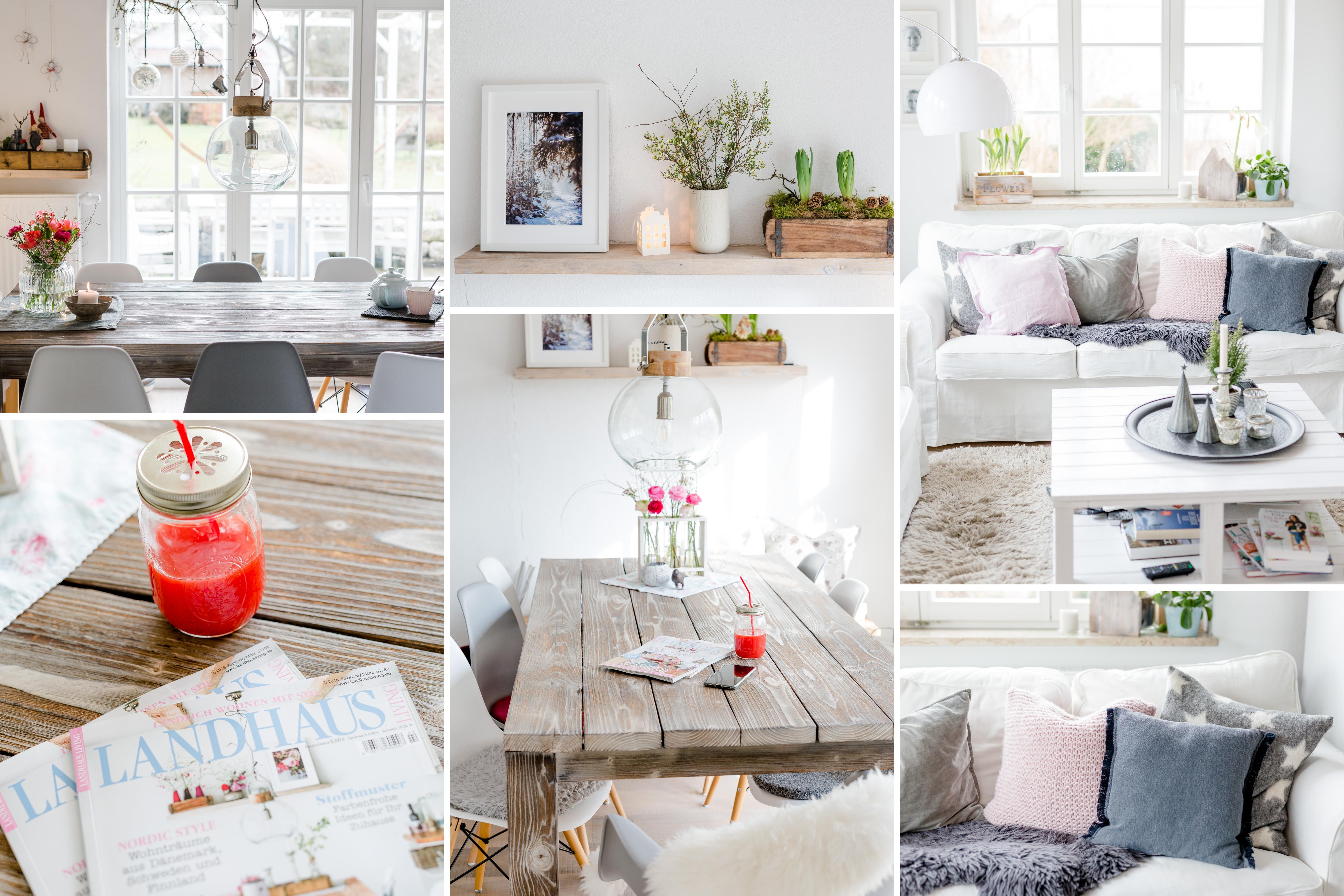 Interior im Monatsrückblick Januar, Pomponetti, Cover der Landhaus Living