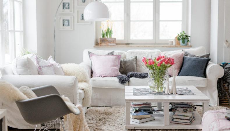 Friday Flowerday im Wohnzimmer