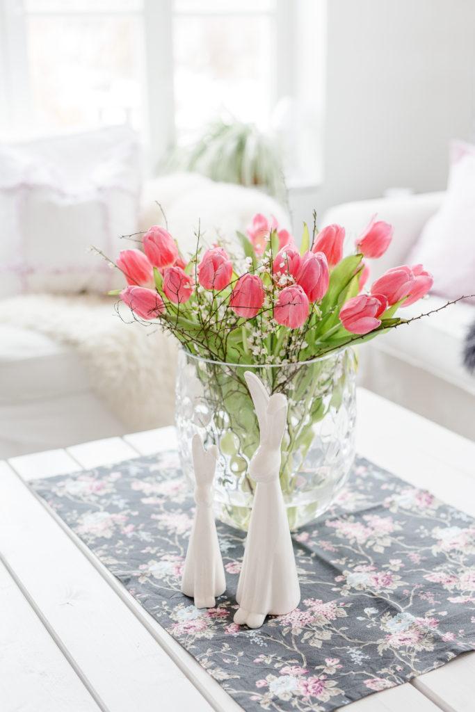 Friday Flowerday im Wohnzimmer, POmponetti, Weekendflowers