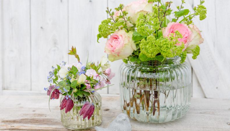 Frühlingsblumen aus dem Garten zum Friday Flowerday