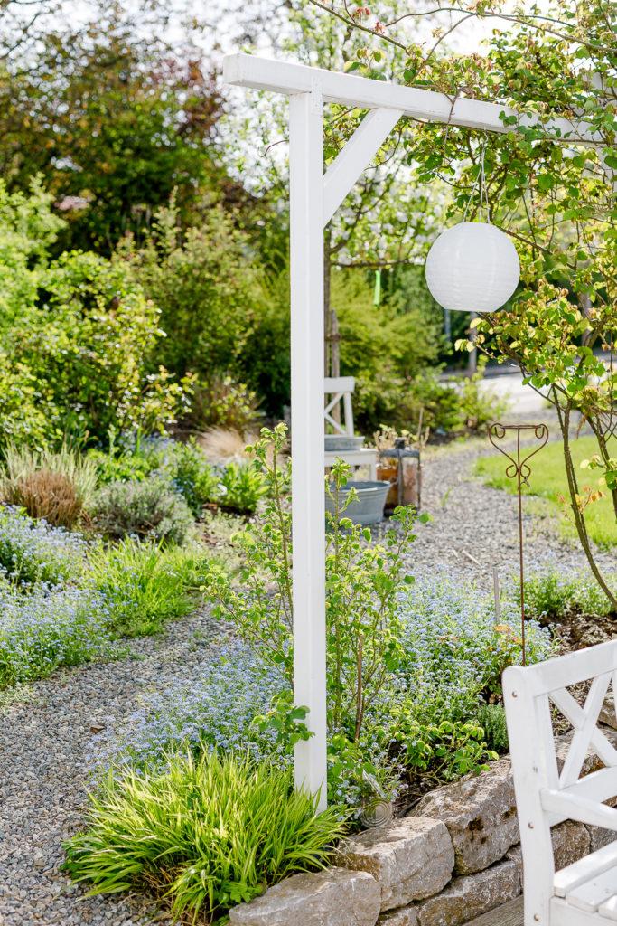 Garten Ende April, Pomponetti