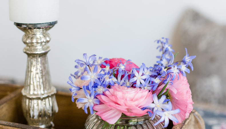 Upcycling Flowers zum Wochenende