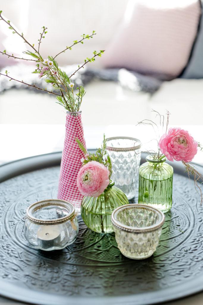 Upcycling Flowers zum Wochenende, Pomponetti