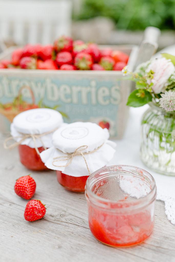 Die leckersten Erdbeerrezepte, Erdbeermarmelade selbstgemacht, Pomponetti