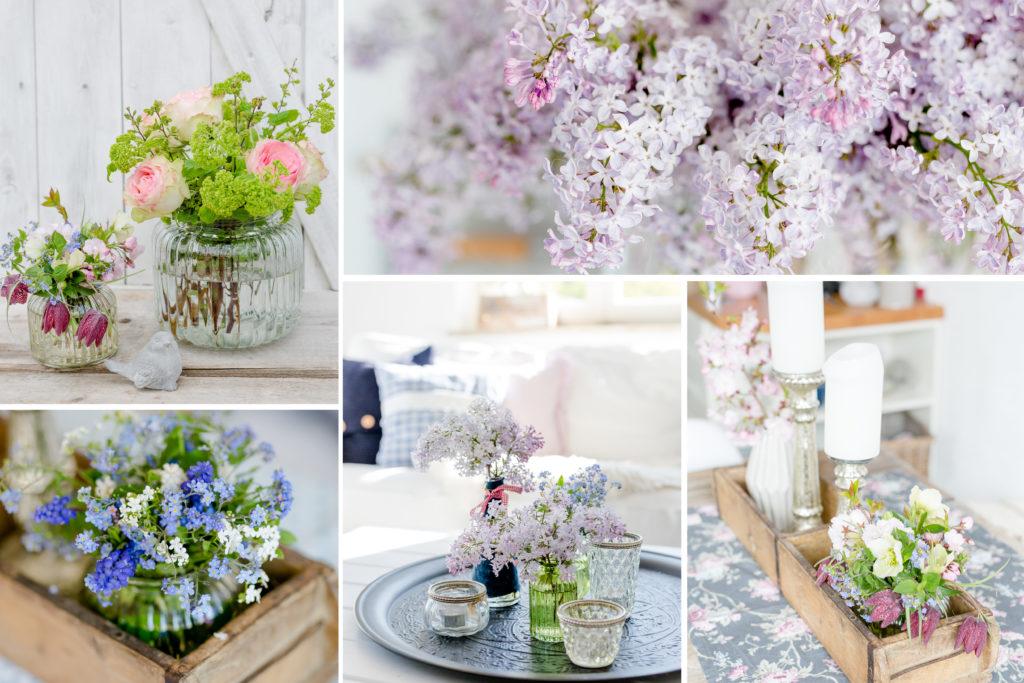 Monatsrückblick Flowers, Monatscollage, Pomponetti