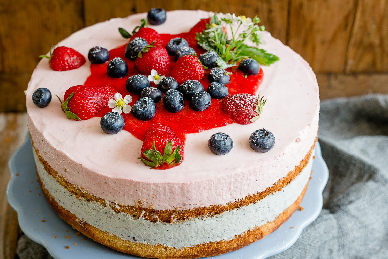Naked Cake zum Muttertag, Pomponetti, Rezept