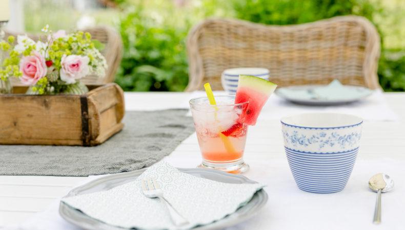 Pimp my Outdoor-Room oder Mocktail auf der Terrasse