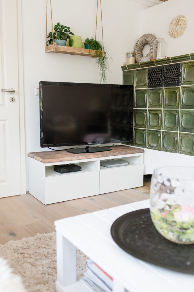 Ikea Hack TV Regal und Virgin Caipirinha Rezept, Pomponetti, Livingroom