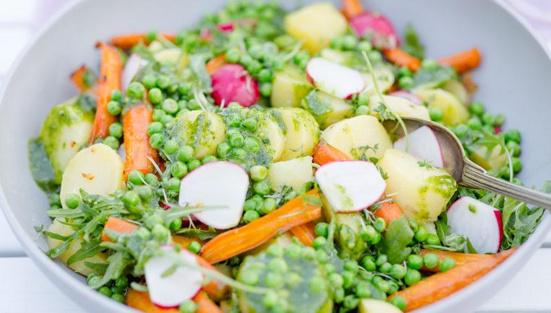 Kartoffelsalat mal anders… ein leichtes Sommerrezept